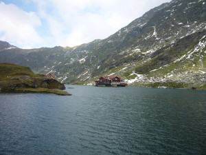 Balea lac - on the highest point of the Transfagarasan road