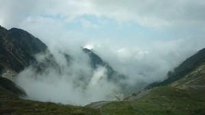 Transfagarasan - above the clouds